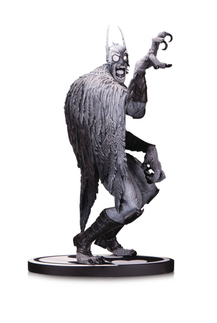 DC Comics Batman Black and White Batmonster Statue by Greg Capullo