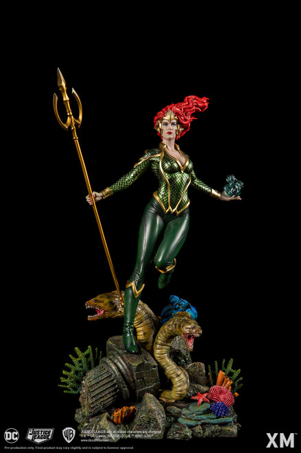 XM Studios DC Premium Collectibles Mera Rebirth 1:6 Scale Statue