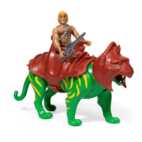 super7 masters of the universe he man battle cat reaction figure