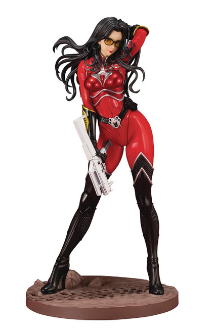Kotobukiya GI Joe Baroness Crimson Strike Team Bishoujo Previews Exclusive Statue