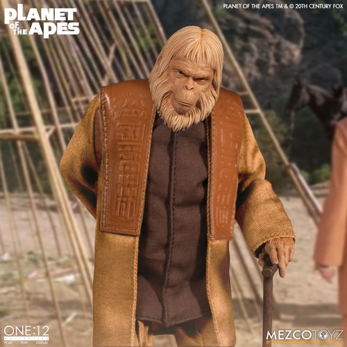 Mezco One:12 Collective Planet of the Apes Dr. Zaius Figure