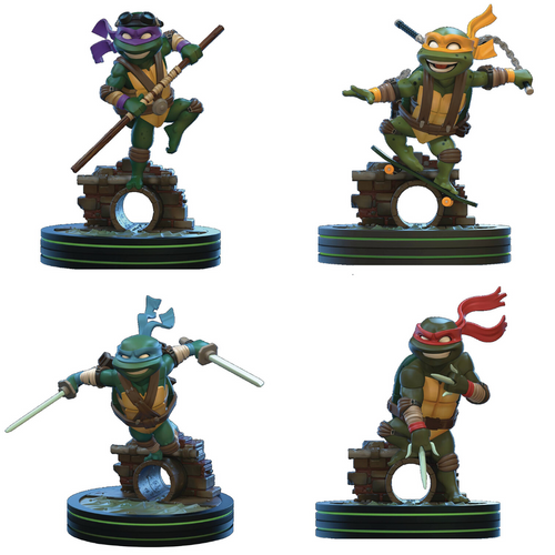 qmx tmnt q-fig diorama series