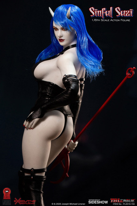 tb league sinful suzy action figure