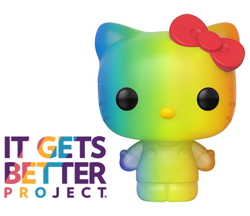 funko pride hello kitty pop vinyl figure