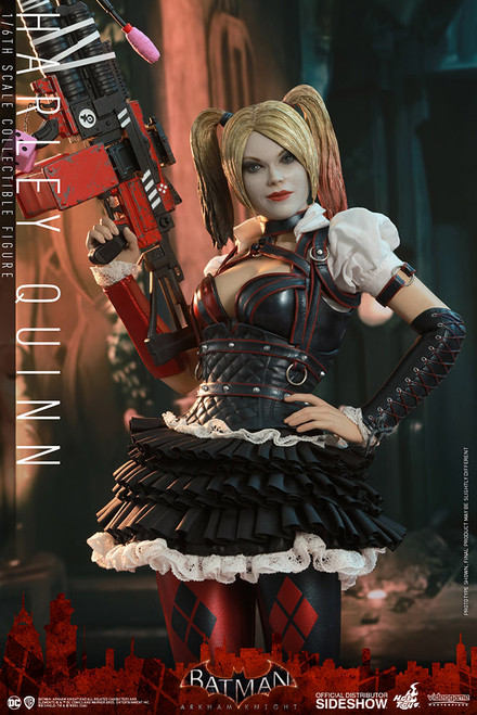 hot toys harley quinn figure batman arkham knight
