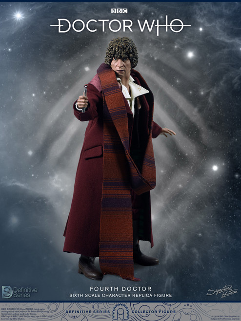 big chief studios doctor who definitive series 4th doctor figure