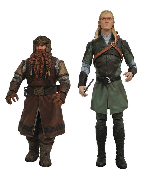 diamond select toys lord of the rings action figures