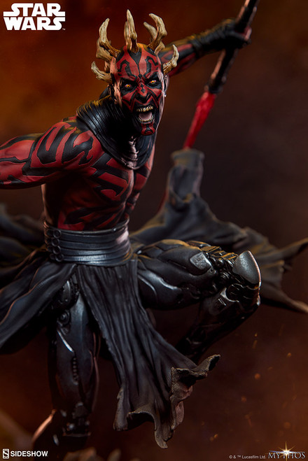 sideshow darth maul mythos statue