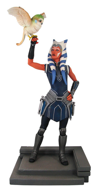 diamond select toys clone wars ahsoka statue