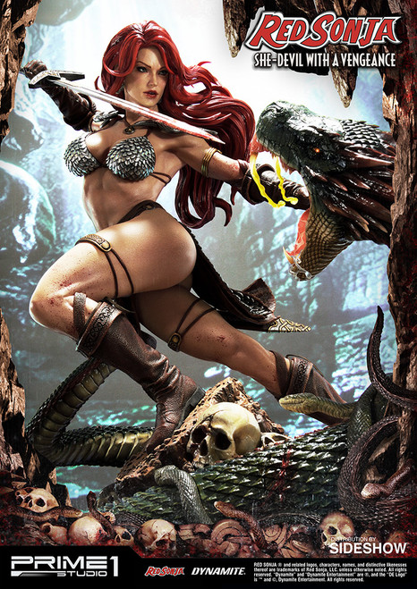 prime 1 studio red sonja she devil with a vengeance statue