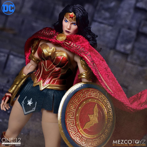 mezco one 12 collective wonder woman action figure