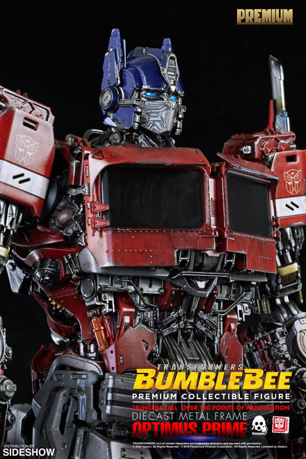 threezero optimus prime premium scale collectible figure