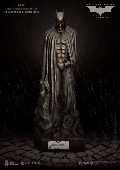 beast kingdom dark knight memorial statue