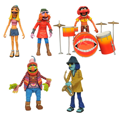 sdcc 2020 muppets deluxe band members action figure box set