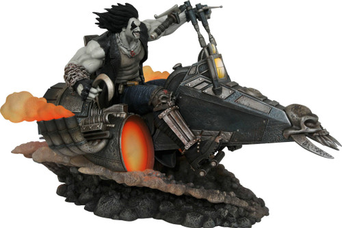 diamond select toys dc gallery lobo statue