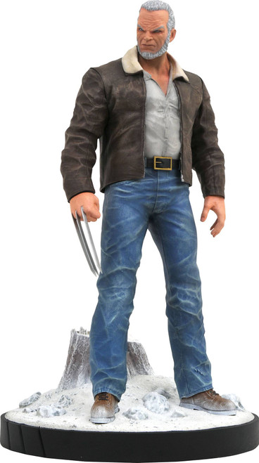 diamond select toys old man logan statue