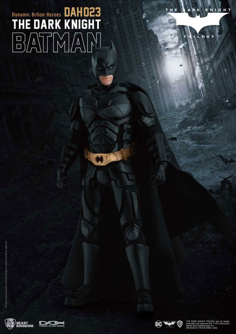 beast kingdom the dark knight batman action figure