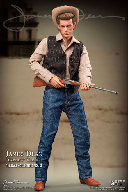 star ace james dean cowboy version one sixth scale figure