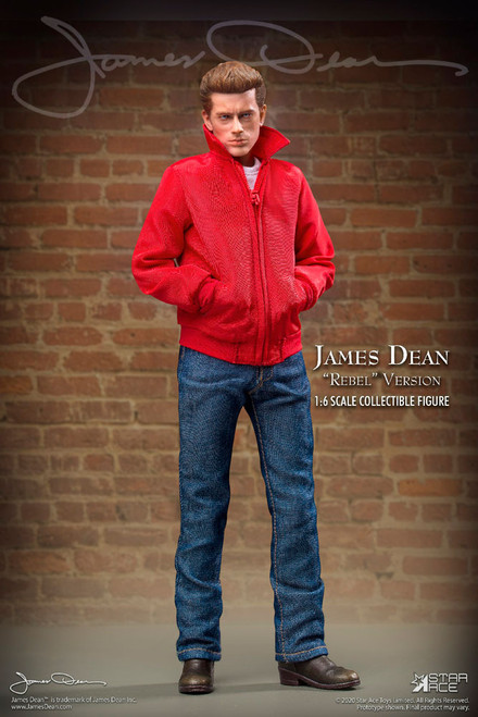 star ace james dean rebel version one sixth scale figure
