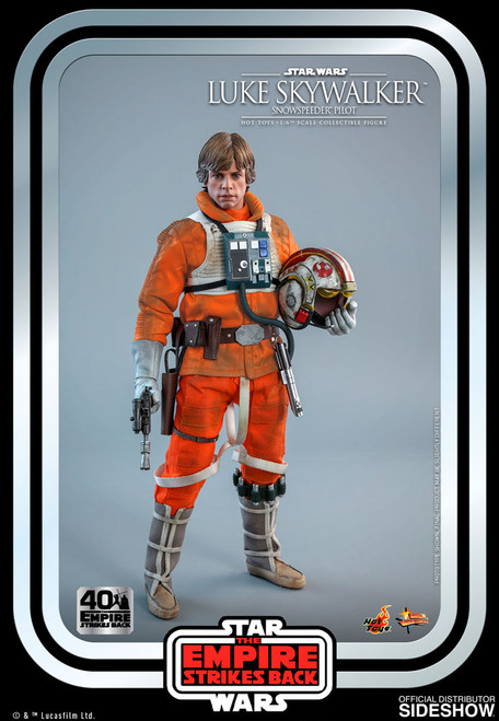 hot toys luke skywalker snowspeeder pilot one sixth scale figure