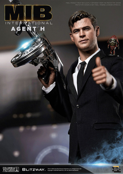 blitzway men in black international agent h 1/6 scale figure