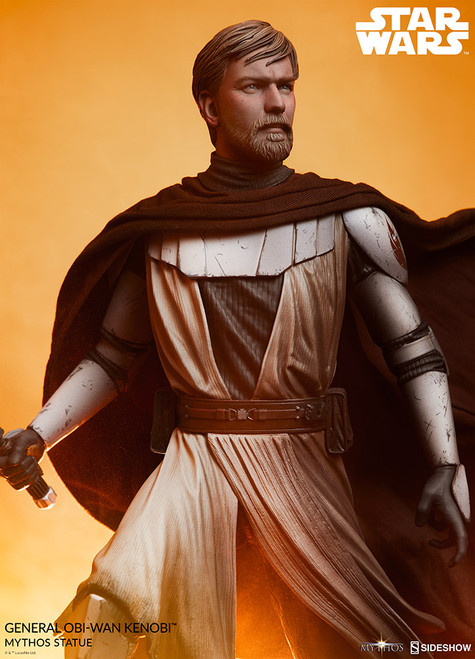 sideshow collectibles general obi wan kenobi mythos statue