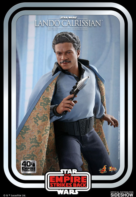 hot toys lando calrissian one sixth scale figure
