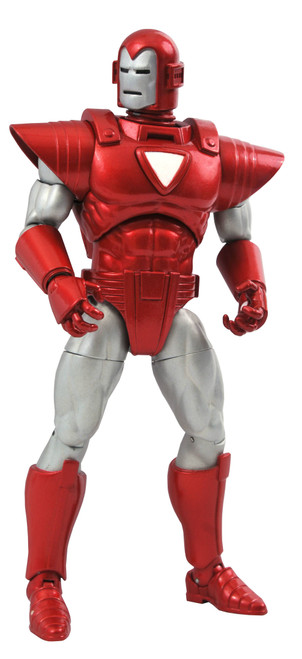 marvel select silver centurion iron man action figure