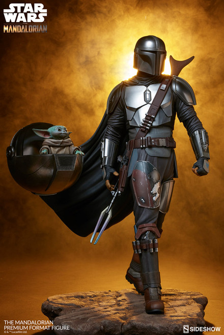 sideshow collectibles the mandalorian premium format figure
