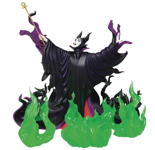 grand jester sleeping beauty maleficent statue