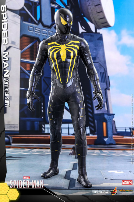 hot toys spider-man anti ock suit sixth scale figure