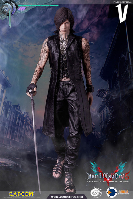 asmus toys devil may cry v one sixth scale figure