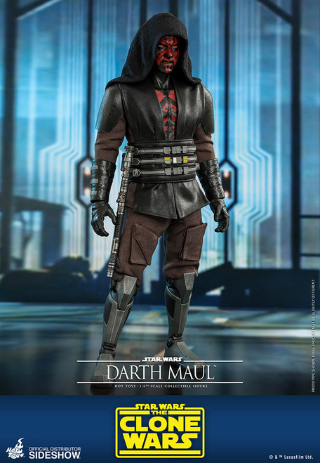 hot toys darth maul clone wars sixth scale figure