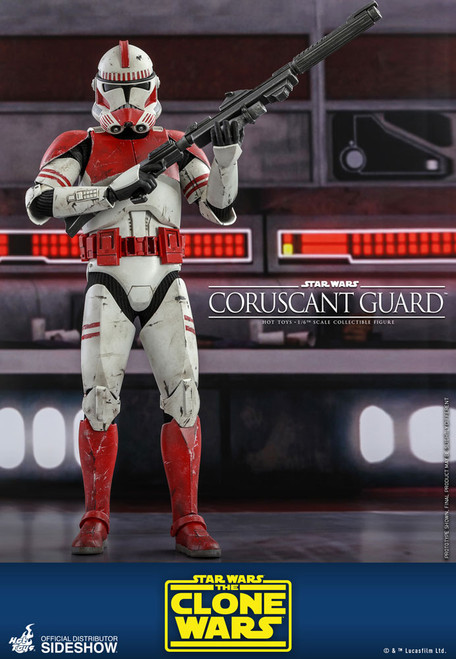 hot toys coruscant guard sixth scale figure