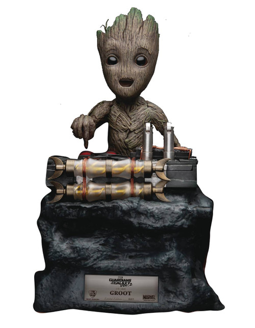 beast kingdom guardians of the galaxy vol 2 life size groot statue