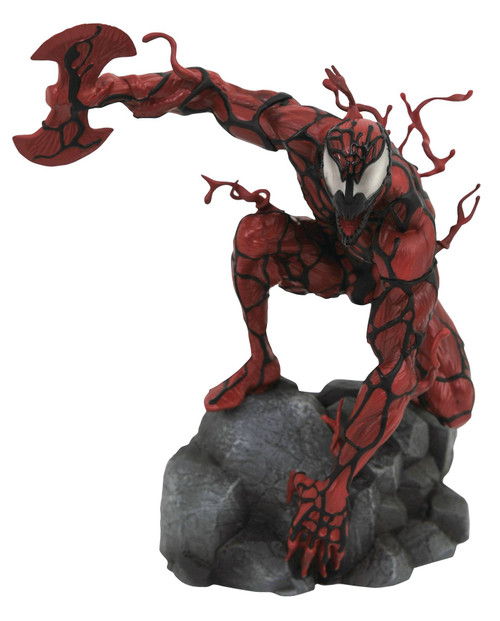 diamond select toys marvel gallery carnage pvc statue
