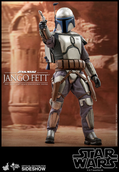 hot toys jango fett sixth scale figure