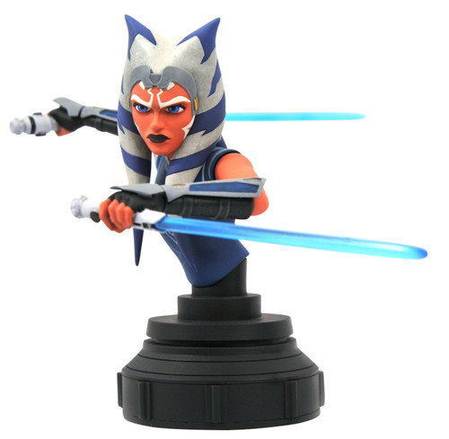 diamond select toys star wars clone wars ahsoka 1/7 scale statue