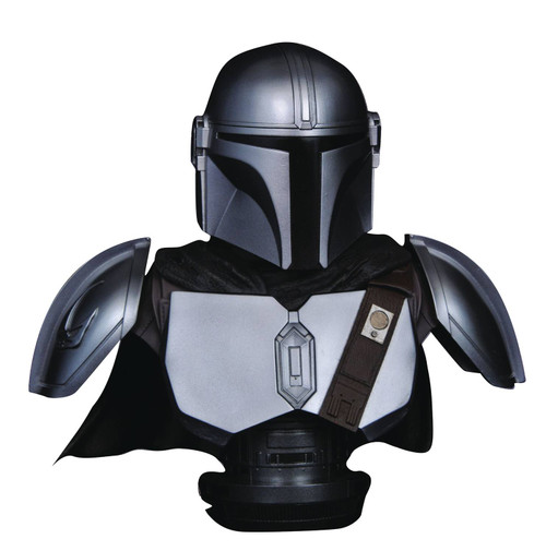 diamond select toys star wars legends in 3d mandalorian mk iv bust