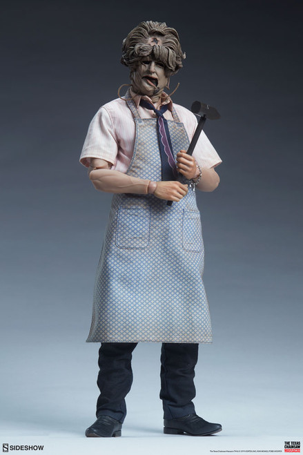 sideshow collectibles texas chainsaw massacre leatherface sixth scale figure