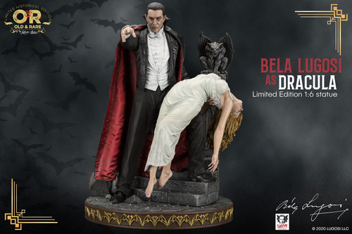 infinite studio bela lugosi as dracula one sixth scale statue