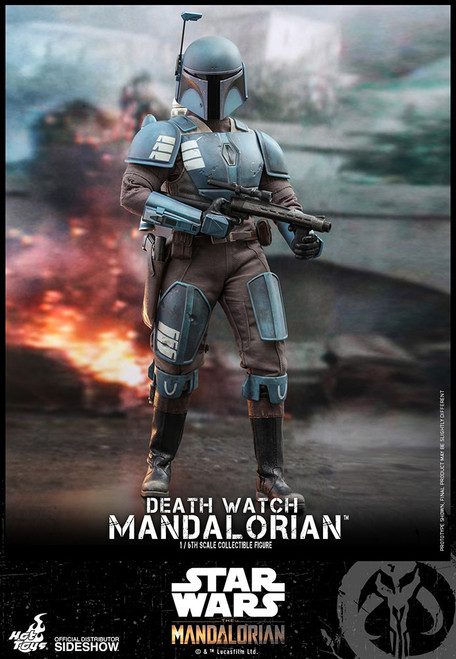 hot toys death watch mandalorian sixth scale figure