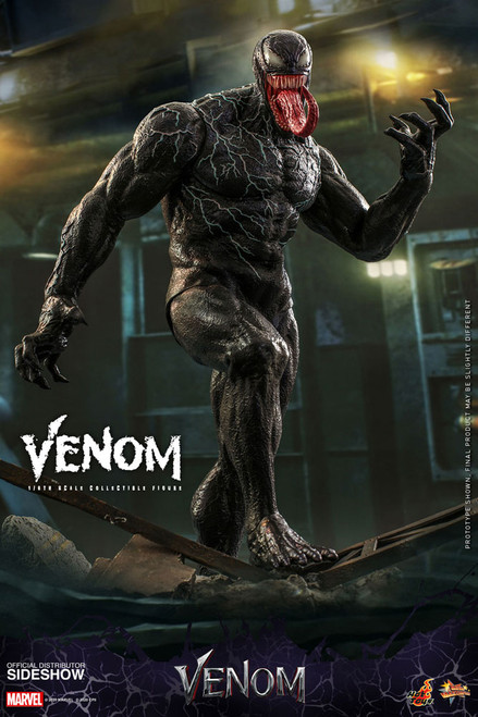 hot toys venom sixth scale action figure