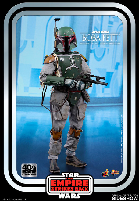 hot toys boba fett 40th anniversary sixth scale figure