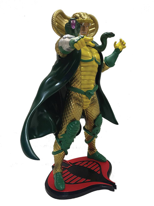 pcs collectibles gi joe serpentor statue