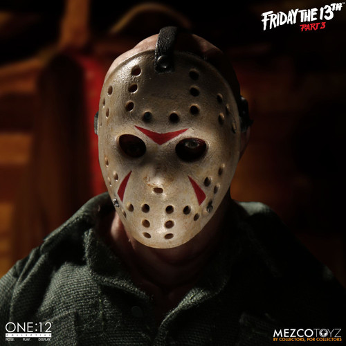mezco one 12 collective jason voorhees friday the 13th part 3 action figure