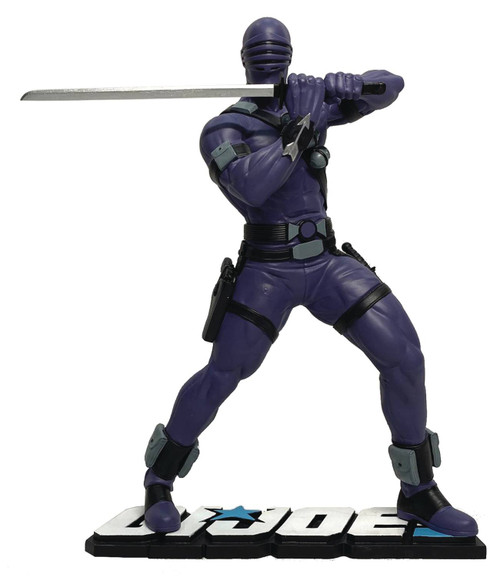 pcs collectibles gi joe snake eyes statue
