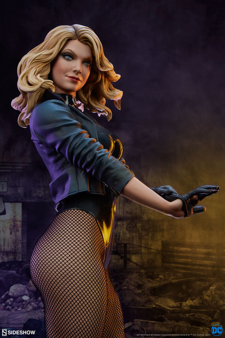 black canary premium format figure sideshow collectibles