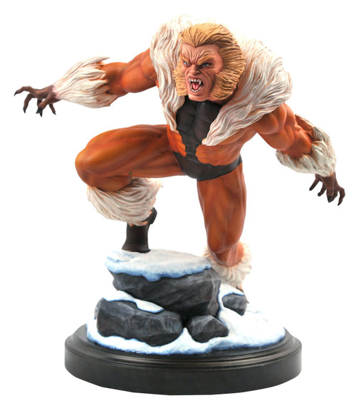 diamond select toys marvel premier sabretooth statue