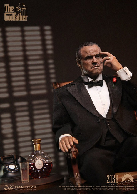 damtoys godfather vito corleone formal version one sixth scale figure